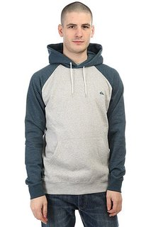 Толстовка кенгуру Quiksilver Everyday Hood Indian Teal Heather