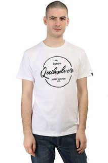 Футболка Quiksilver Silvered White