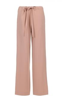 Широкие брюки с эластичным поясом и накладным карманом Theory