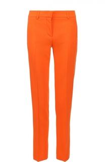 Укороченные брюки прямого кроя со стрелками Emilio Pucci