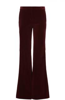 Бархатные расклешенные брюки с карманами Theory