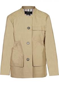 Жакет с укороченным рукавом и накладными карманами Isabel Marant