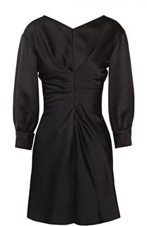 Мини-платье с укороченным рукавом и драпировкой Isabel Marant