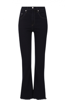 Укороченные расклешенные джинсы с бахромой Rag&Bone Rag&Bone