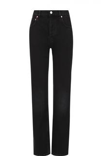 Укороченные джинсы прямого кроя с завышенной талией Balenciaga