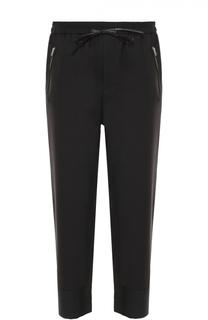 Шерстяные брюки прямого кроя с заниженной линией шага 3.1 Phillip Lim