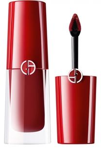 Стойкий матовый блеск для губ Lip Magnet, оттенок 403 Giorgio Armani