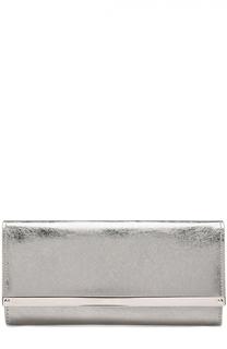 Клатч Milla из металлизированной кожи Jimmy Choo