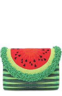 Клатч Watermelon с отделкой бисером Sarah's Bag