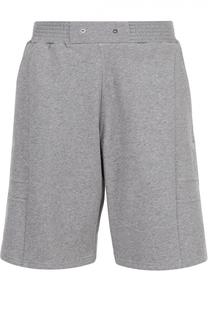 Хлопковые шорты свободного кроя с нашивками Givenchy