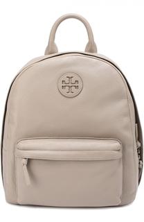 Кожаный рюкзак с логотипом Tory Burch