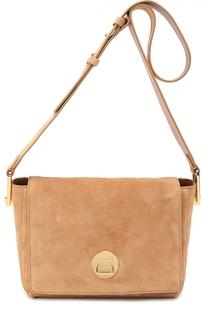 Замшевая сумка Liya Coccinelle