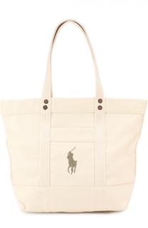Сумка-тоут Big Pony Polo Ralph Lauren
