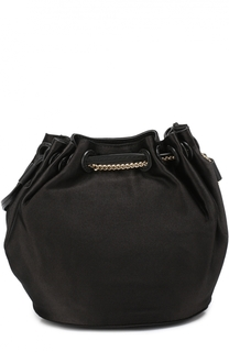 Сумка Mini Drawstring Bucket из сатина Diane Von Furstenberg