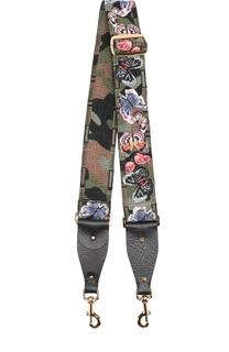 Вышитый ремень для сумки Rockstud Valentino