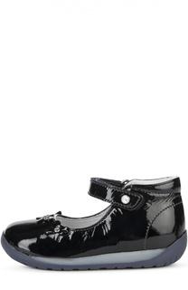 Лаковые туфли с поперечным ремешком Falcotto