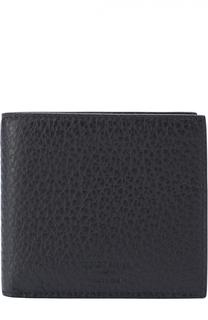 Кожаное портмоне с отделениями для кредитных карт и монет Giorgio Armani