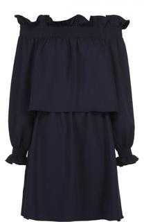 Мини-платье с открытыми плечами Diane Von Furstenberg