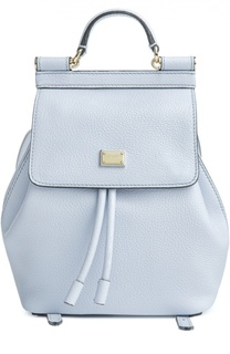 Кожаный рюкзак Sicily Backpack small Dolce & Gabbana