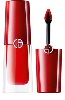 Стойкий матовый блеск для губ Lip Magnet, оттенок 302 Giorgio Armani