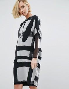Платье мини Religion Gloss - Белый