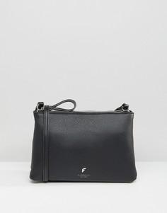 Минималистичная сумка через плечо на молнии Fiorelli - Черный