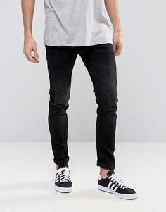 Стретчевые зауженные джинсы Celio - Черный