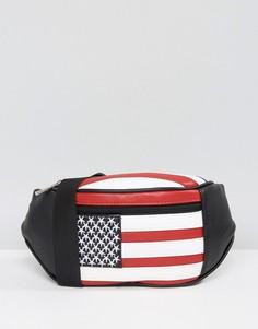 Сумка-кошелек на пояс ASOS American - Мульти