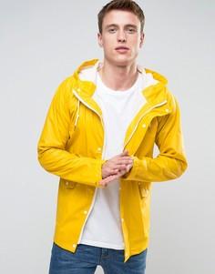 Прорезиненная фестивальная куртка Another Influence - Желтый