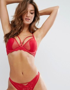 Бюстгальтер с глубоким вырезом Boux Avenue Roxanne - Красный