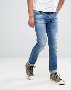 Джинсы Nudie Jeans Co Grim Tim Orange Cloud - Синий