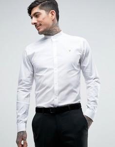 Строгая рубашка слим Farah Berbick - Белый