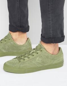 Зеленые кроссовки Converse Star Player 155403C - Зеленый