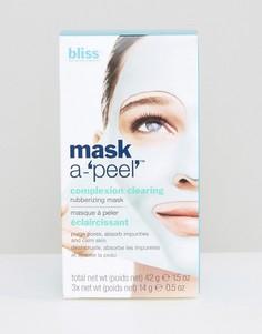 Очищающая маска для цвета лица 3 x 14 г Bliss Mask a-Peel - Бесцветный
