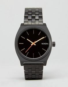 Часы цвета хаки Nixon Time Teller - Зеленый
