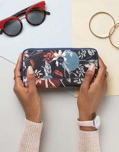 Бумажник на молнии с принтом Nica - Мульти