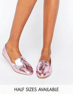 Балетки с кисточками ASOS LAMBETH - Розовый