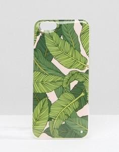 Чехол для Iphone 6 с принтом банановых листьев Signature - Зеленый