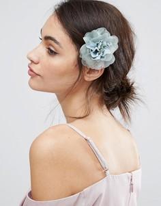 Заколка для волос в винтажном стиле с цветком ASOS - Зеленый