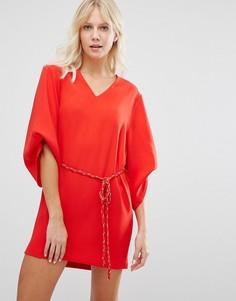 Красное платье Suncoo - Красный