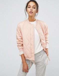 Дутая куртка-пилот Suncoo - Розовый
