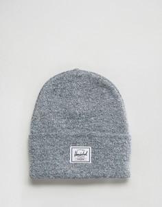 Серая шапка-бини Herschel Supply Co - Серый