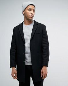 Шерстяное пальто Kiomi - Черный