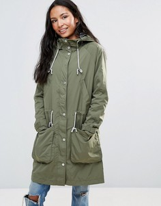 Легкая парка Parka London Dana - Зеленый