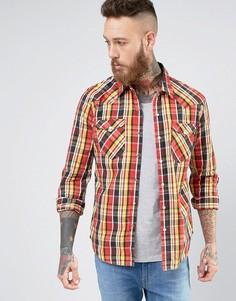 Рубашка в стиле вестерн Levis Barstow Tambour Cherry Bomb - Красный Levis®