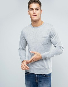 Свитшот с карманом Esprit - Серый