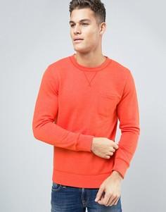 Свитшот с карманом Esprit - Оранжевый