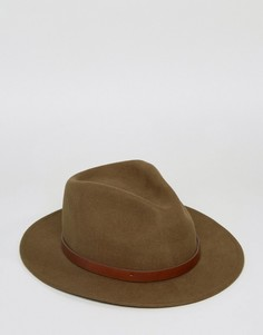 Шляпа Brixton Messer - Зеленый