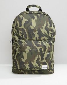 Рюкзак с камуфляжным принтом Spiral - Зеленый