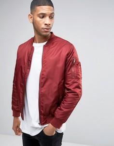 Куртка-пилот Brave Soul Ma1 - Коричневый